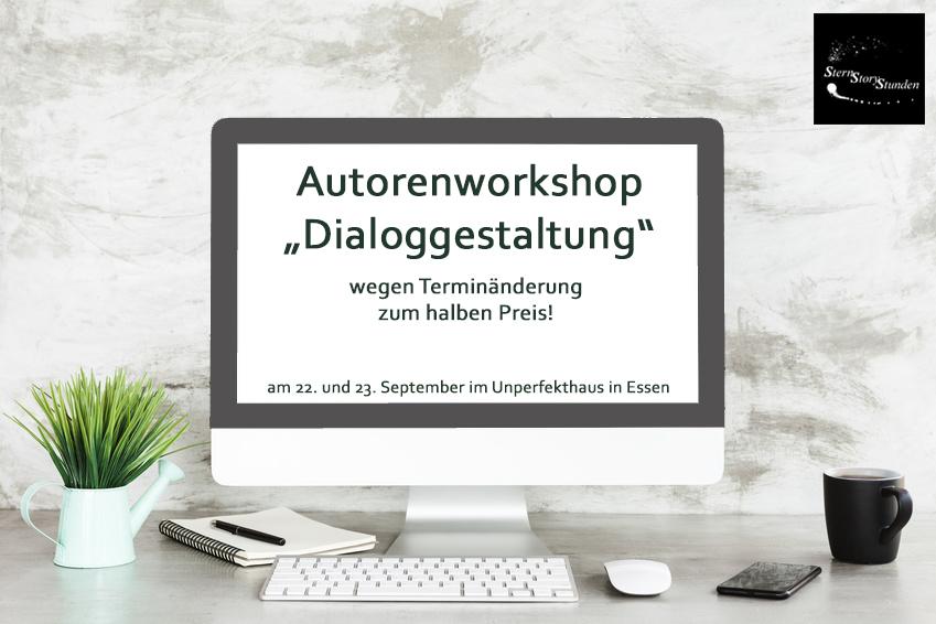 Aktuelles: Workshop wegen Terminänderung zum halben Preis!